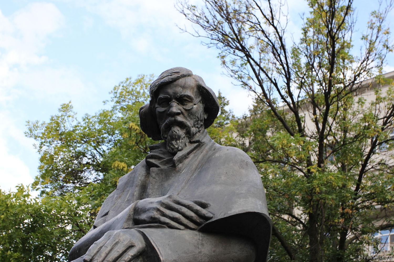 Памятник Чернышевскому, фото 2014 года