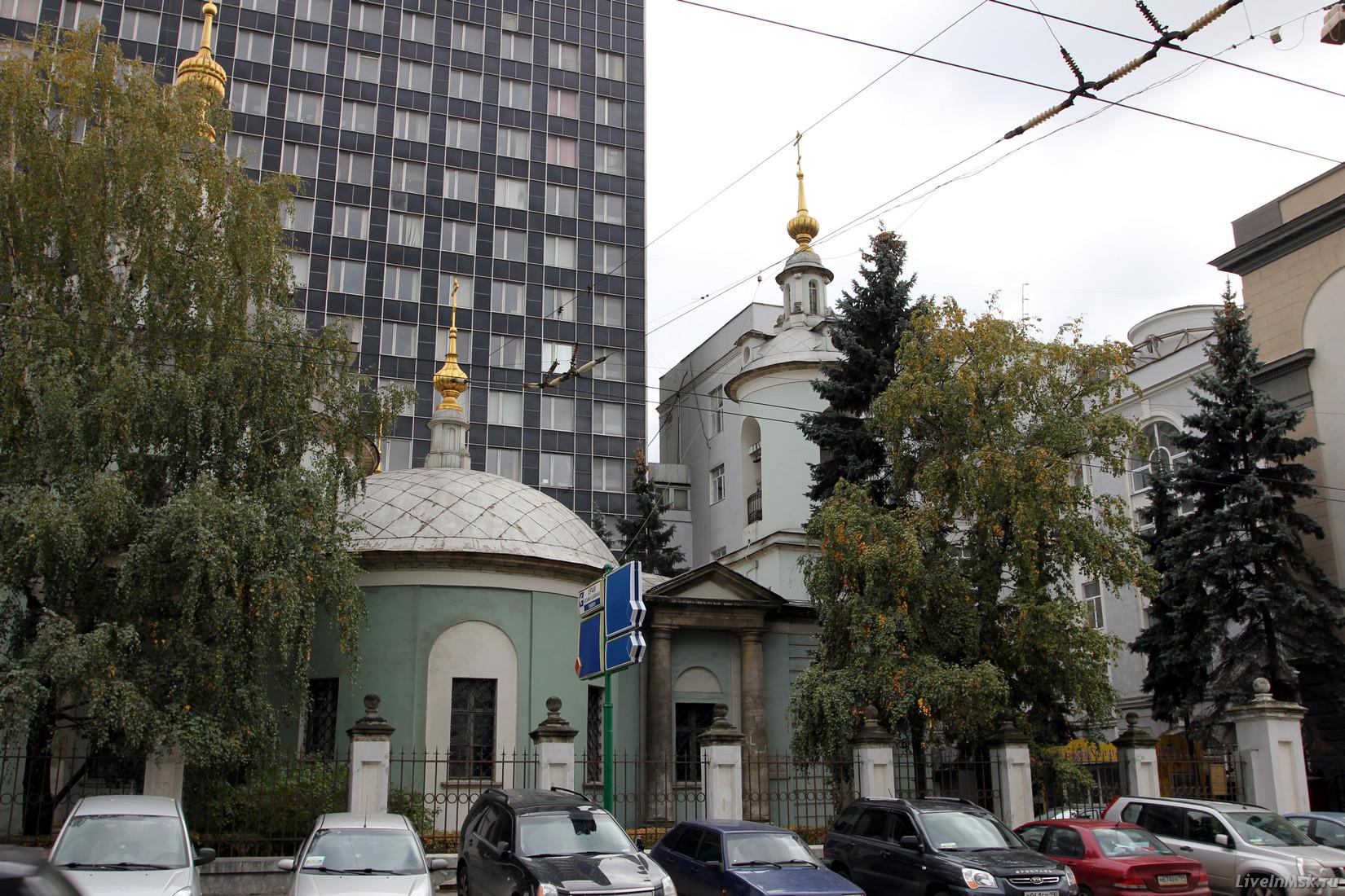 Церковь космы и дамиана на маросейке