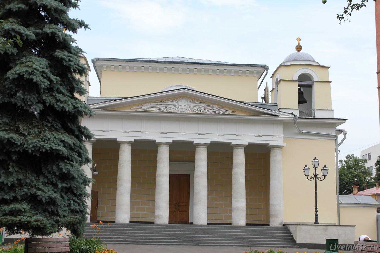 Католический храм св. Людовика, фото 2015 года