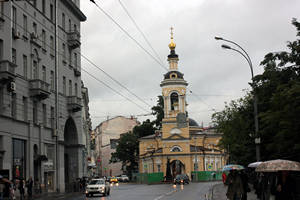 Церковь Рождества Богородицы на стрелке