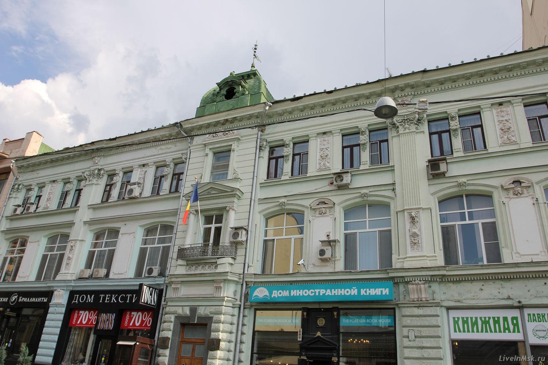 Доходный дом братьев-банкиров Джамгаровых, фото 2014 года