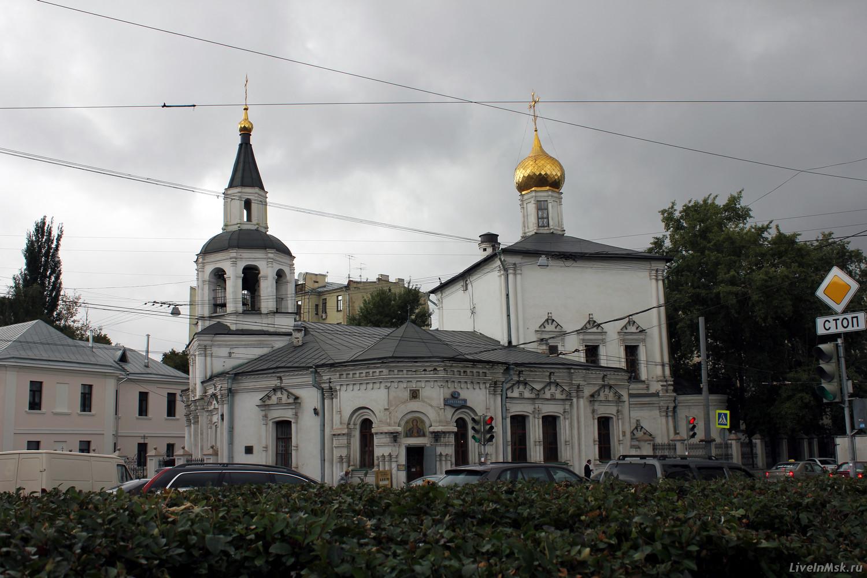 Церковь Успения Пресвятой Богородицы в Печатниках, фото 2015 года