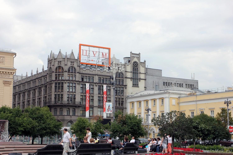 ЦУМ, фото 2012 года