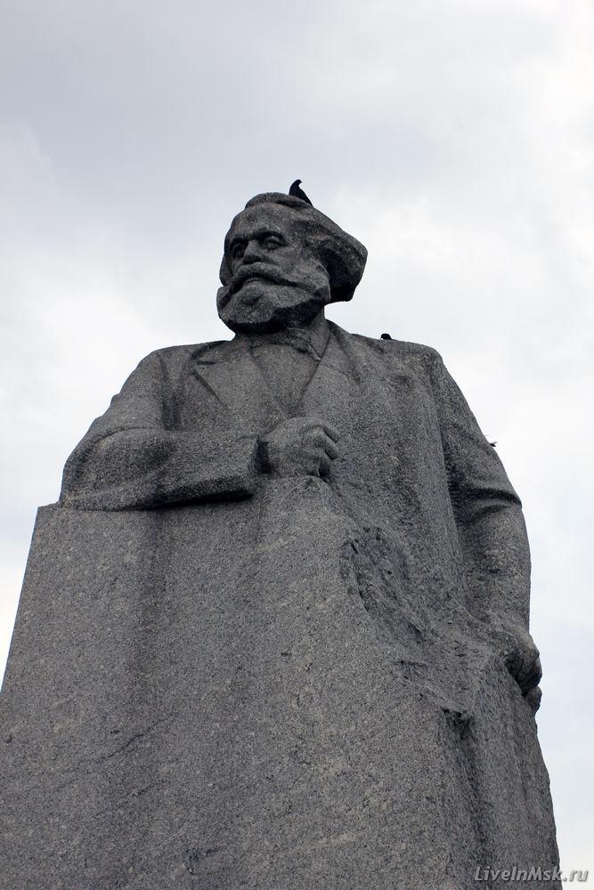 Памятник Карлу Марксу, фото 2014 года