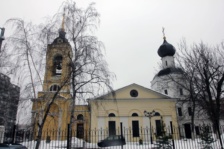 Успенский храм в Казачьей слободе, фото 2015 года