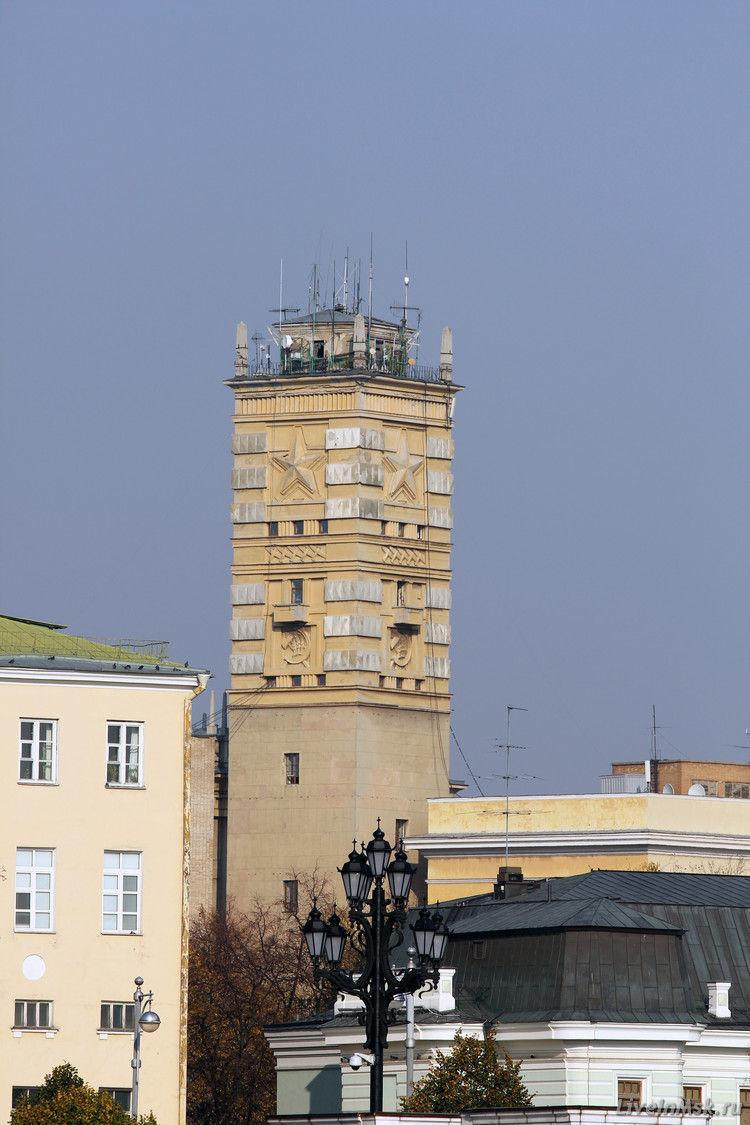 Башня Наркомата Обороны, фото 2014 года