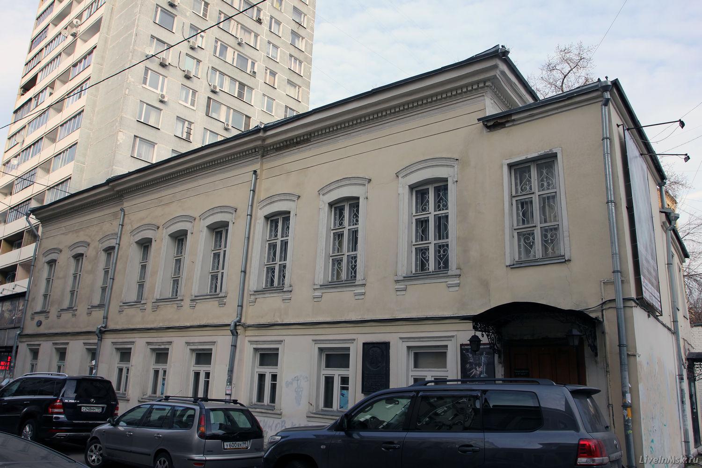 Дом Нащокина в Воротниковском переулке, фото 2014 года