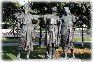 Скульптура «Песня»