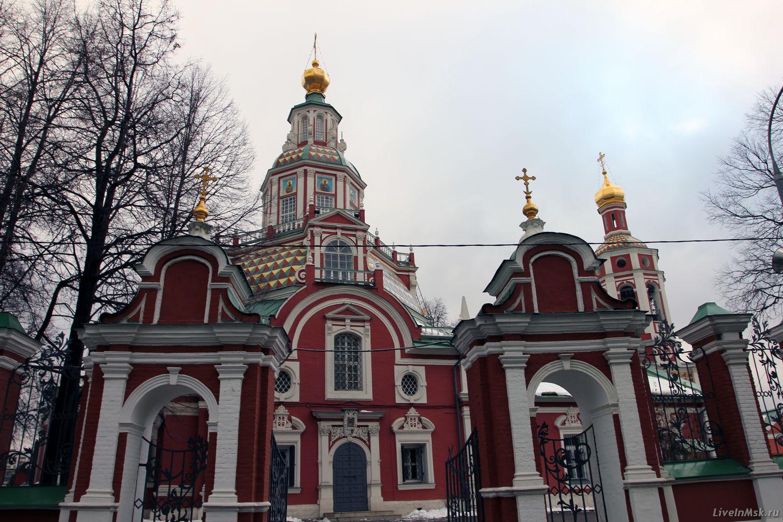 Церковь Иоанна Воина на Якиманке, фото 2015 года