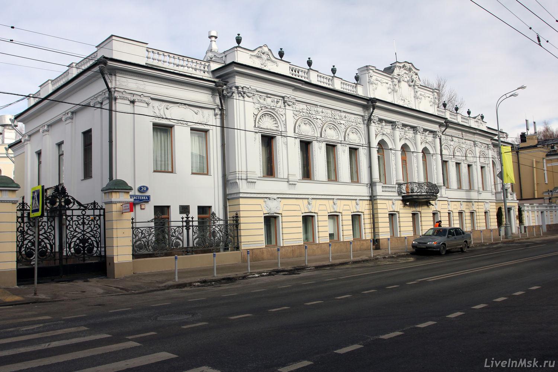 Дом А.П. Ермолова, фото 2016 года