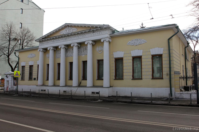 Литературный музей Пушкина на Пречистенке и литературный музей ...