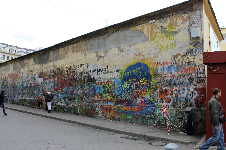 Фото стена дома