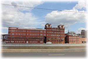 Здание фабрики Красный Октябрь