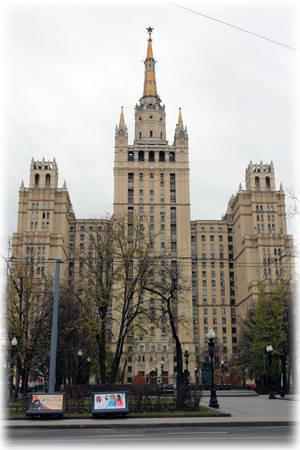 Жилой дом на Кудринской площади