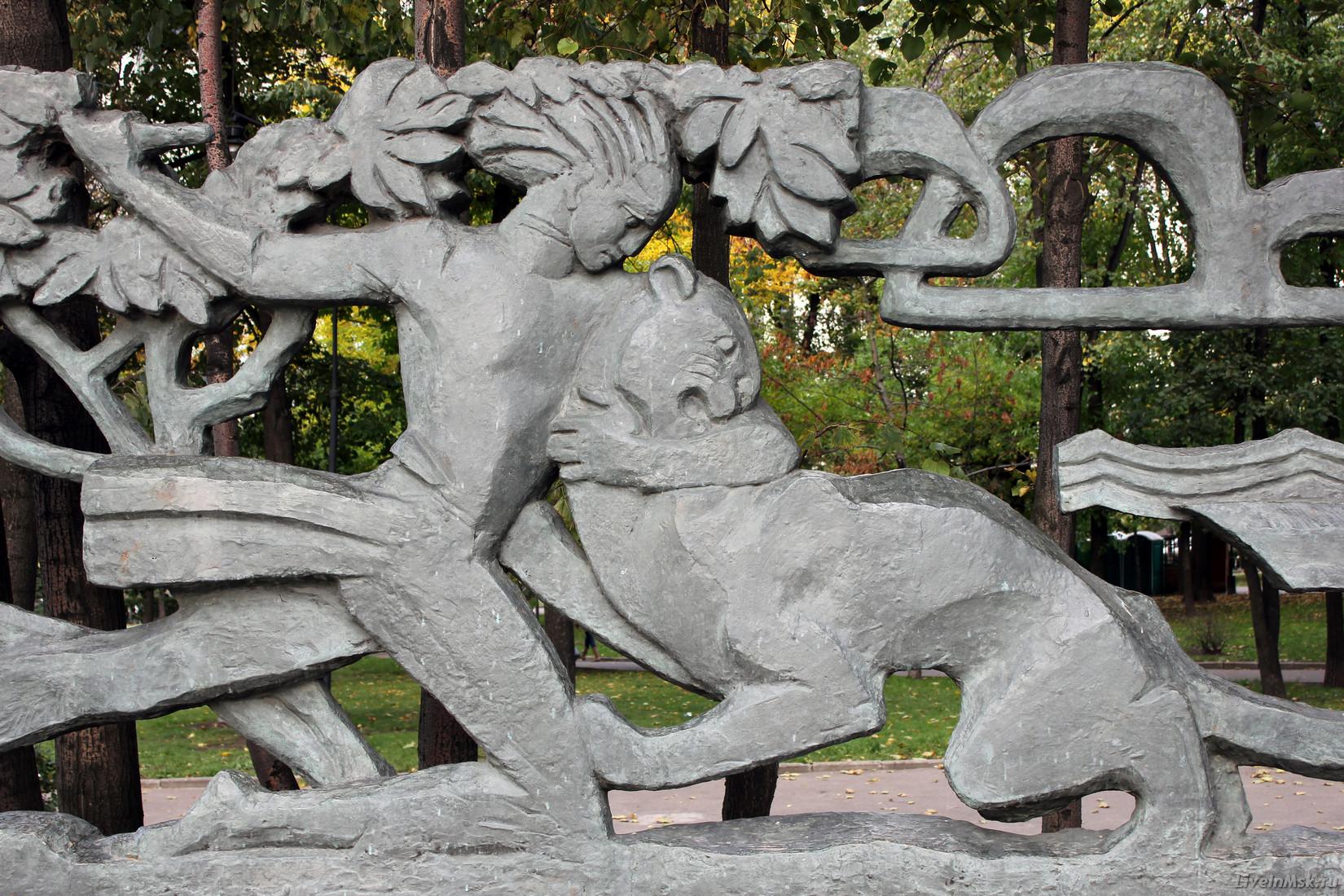 Памятник Лермонтову, 2012 года