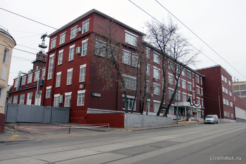 Здание филиала ЦАГИ на ул. Радио