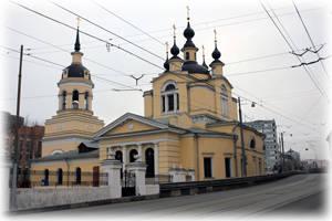 Церковь  Покрова в Селе Красном