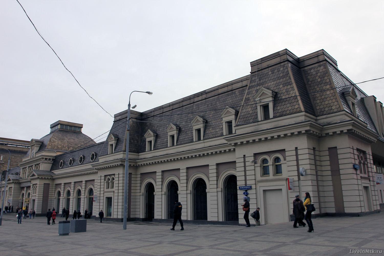 Павелецкий вокзал, фото 2014 года