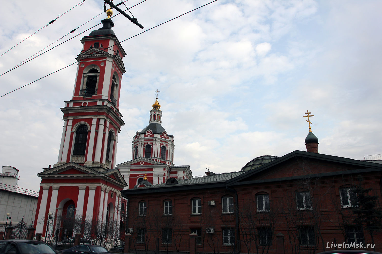Вознесенский храм за Серпуховскими воротами, фото 2015 года