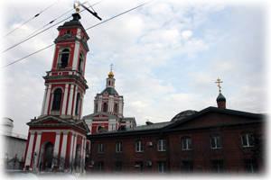 Вознесенский храм за Серпуховскими воротами