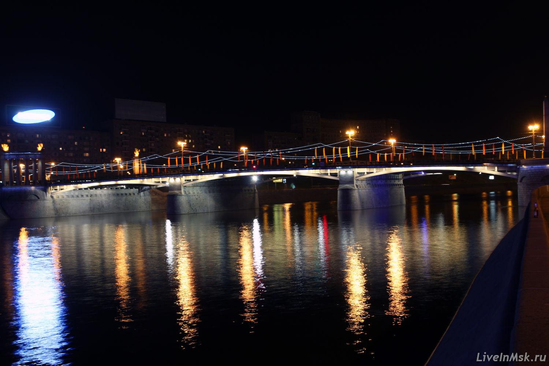 Бородинский мост, фото 2014 года