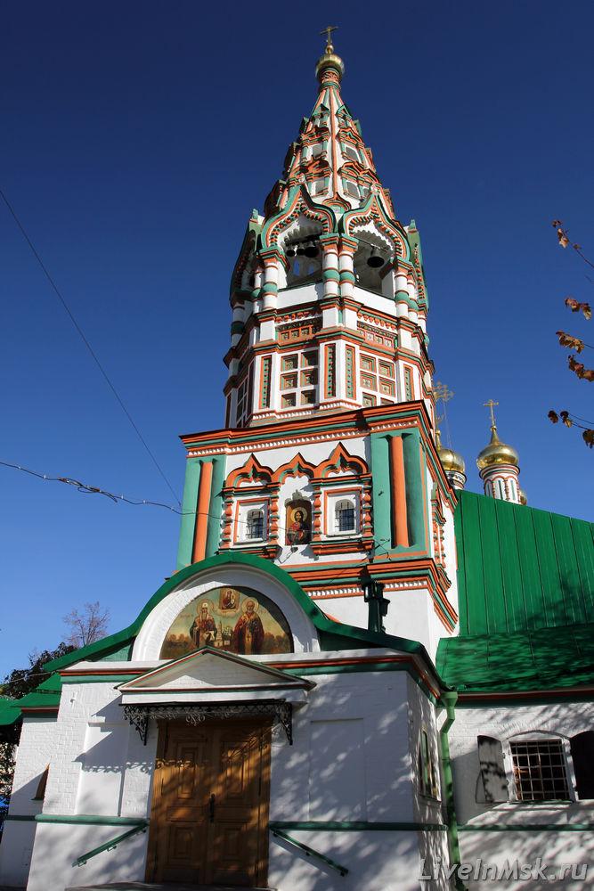 Никольский храм в Хамовниках
