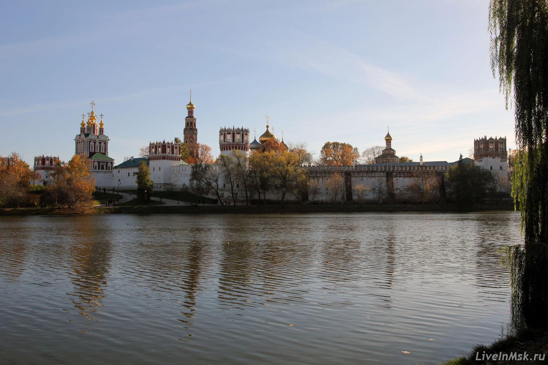 Новодевичий монастырь, фото 2015 года