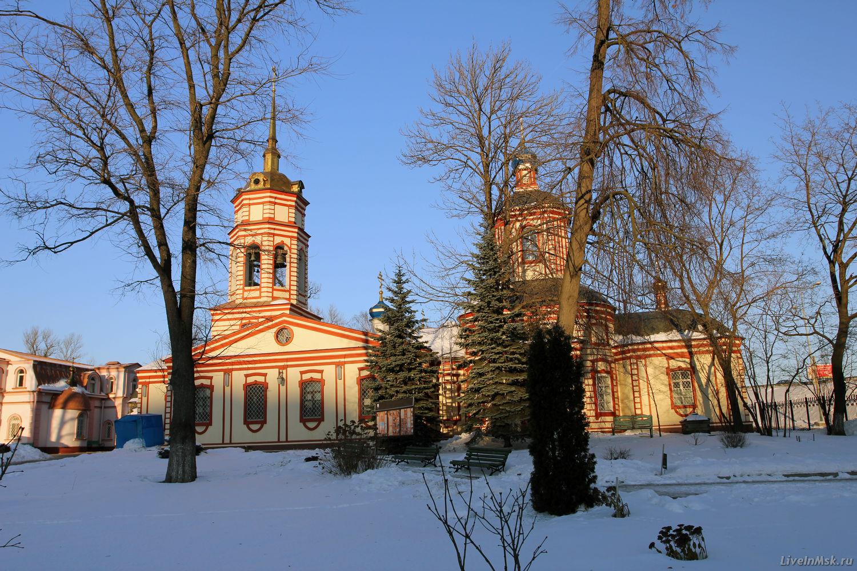 Крестовоздвиженская церковь, фото 2014 года