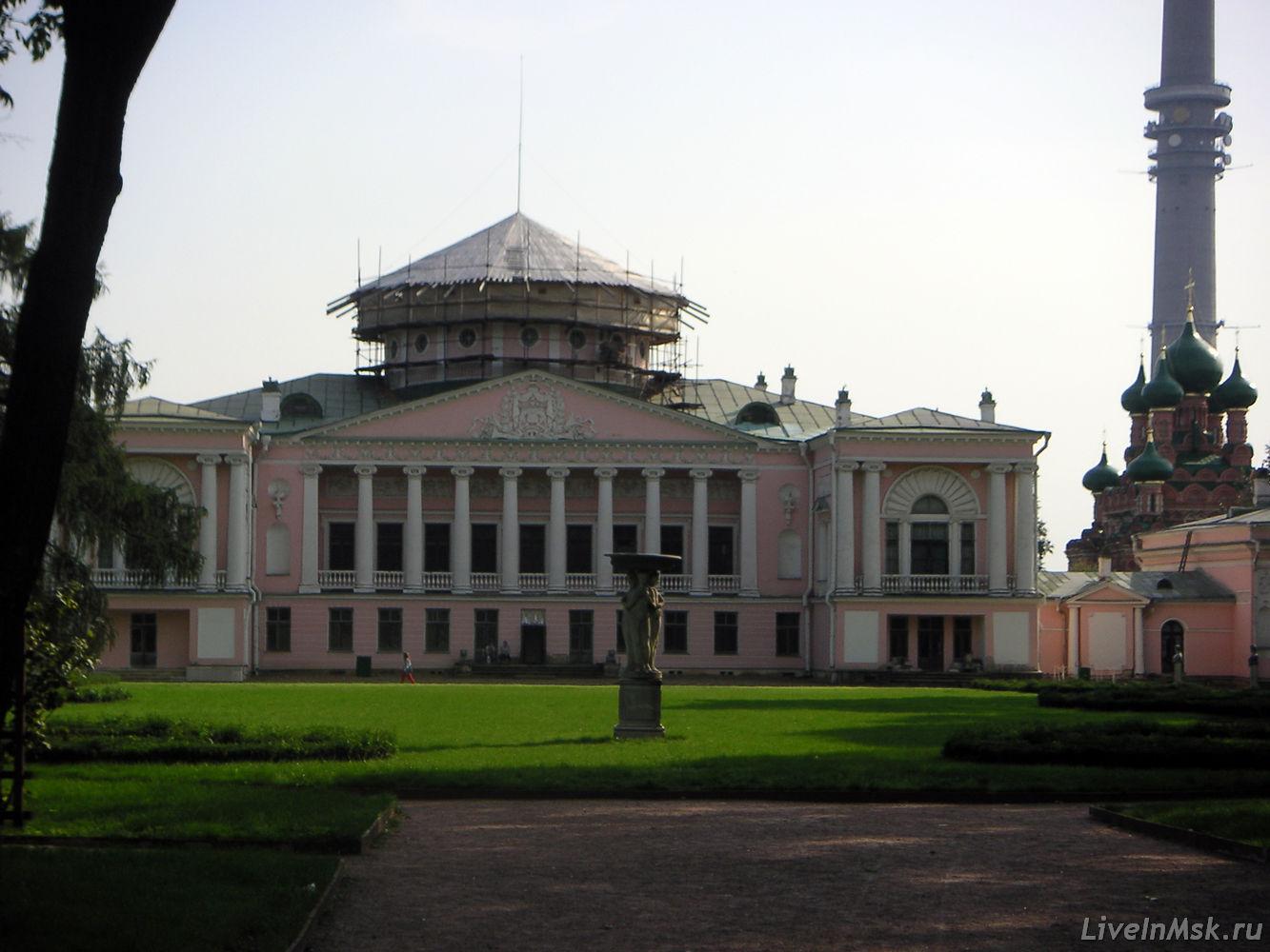 Останкинский дворец, фото 2012 года
