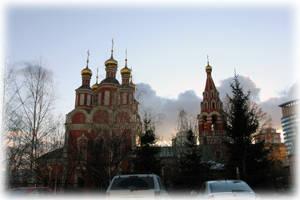 Храм Архангела Михаила в Тропарево