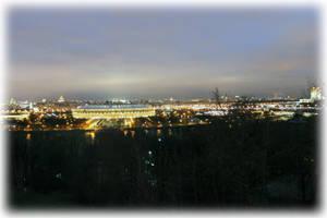 Вид на Стадион Лужники