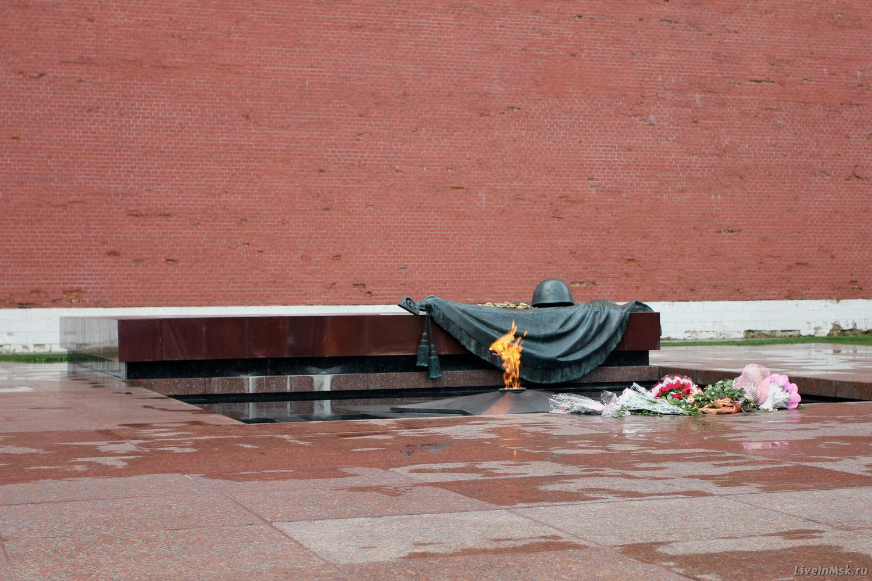 Могила неизвестного солдата, фото 2014 года