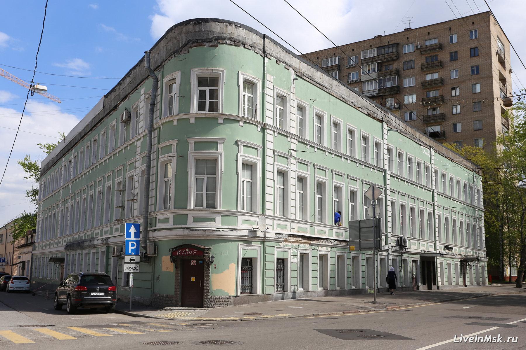Дом Высоцкого на Басманной