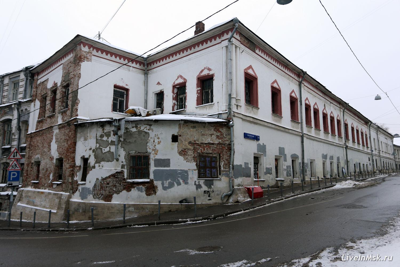 Палаты дьяка Емельяна Украинцева, фото 2014 года