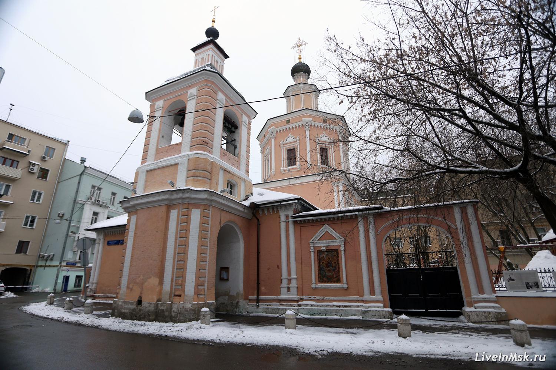 Церковь Троицы в Хохлах, фото 2015 года