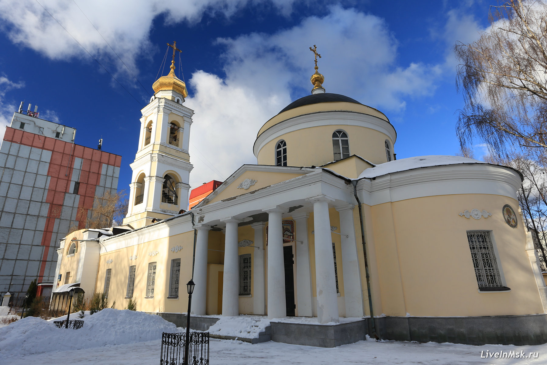 Храм Зосимы и Савватия Соловецких