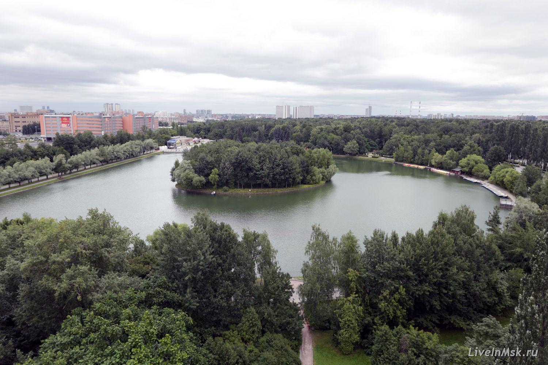 Измайловский парк, фото 2014 года