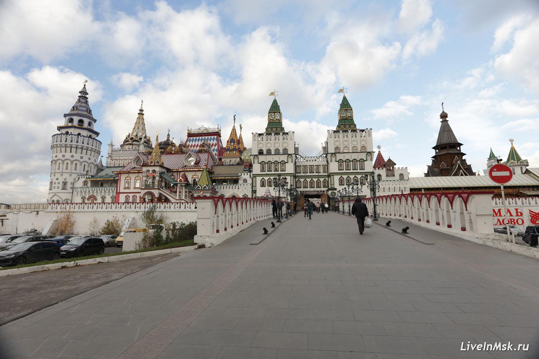 Измайловский Кремль, фото 2017 года