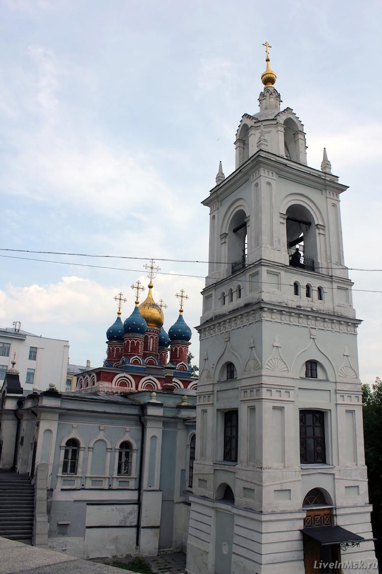 Церковь святого георгия на псковской горе