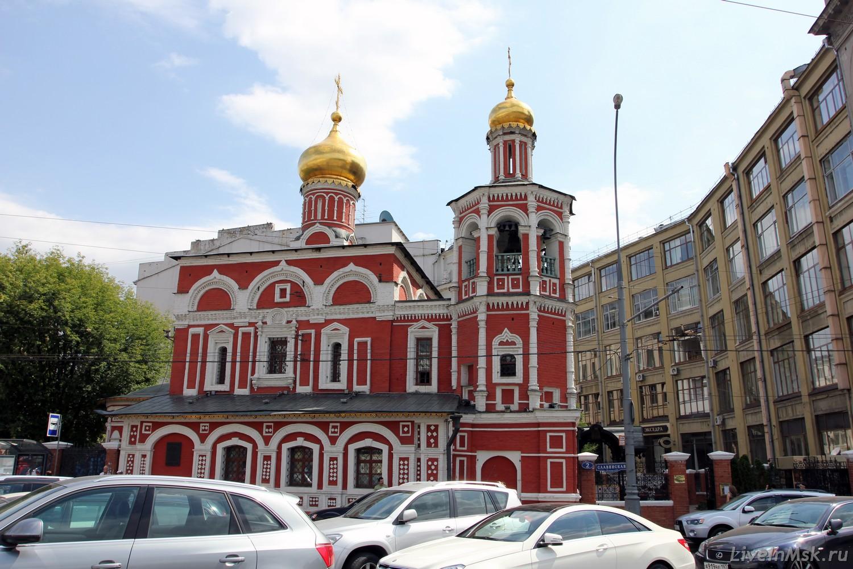 Церковь Всех Святых на Кулишках, фото 2015 года