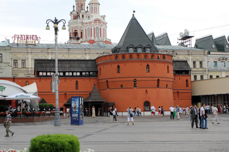Круглая башня Китайгородской стены