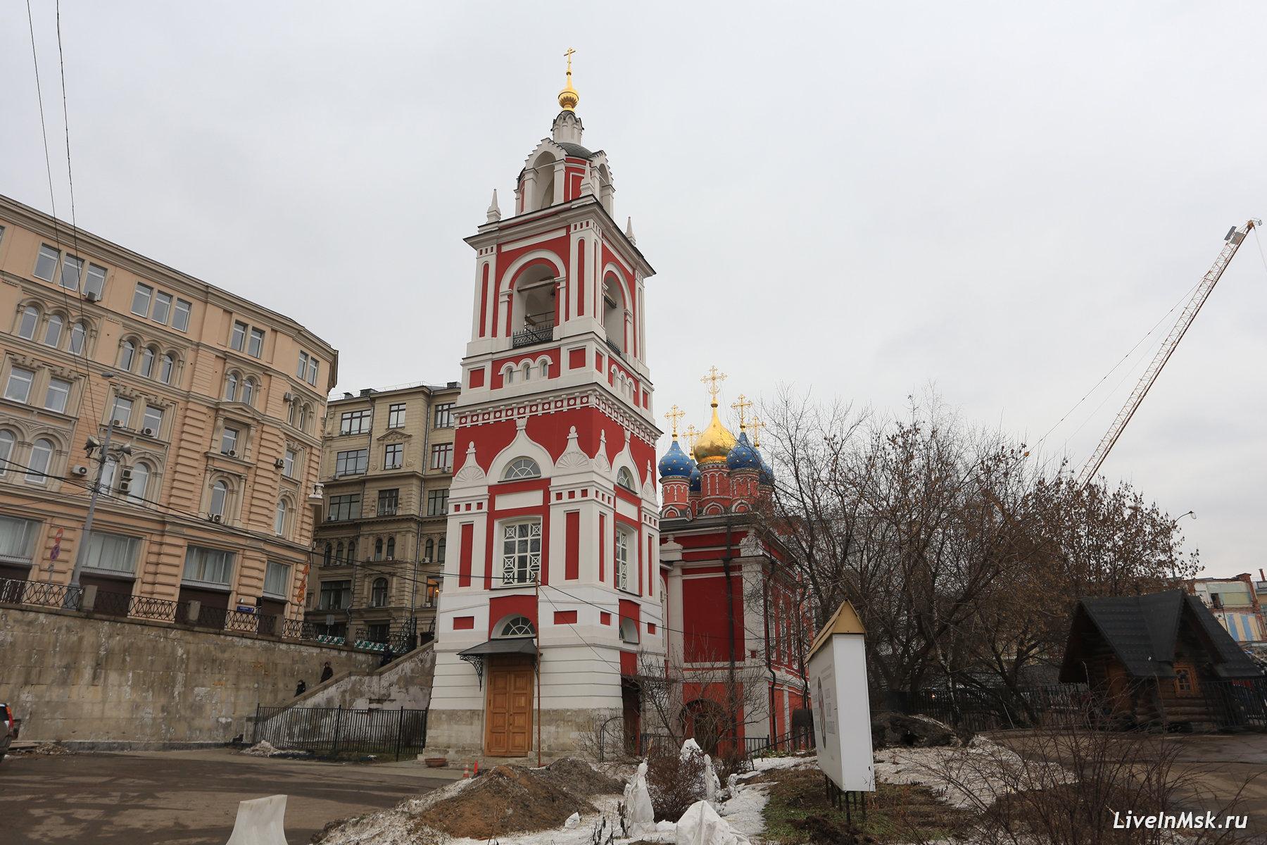 Церковь Георгия на Псковской горе, фото 2017 года