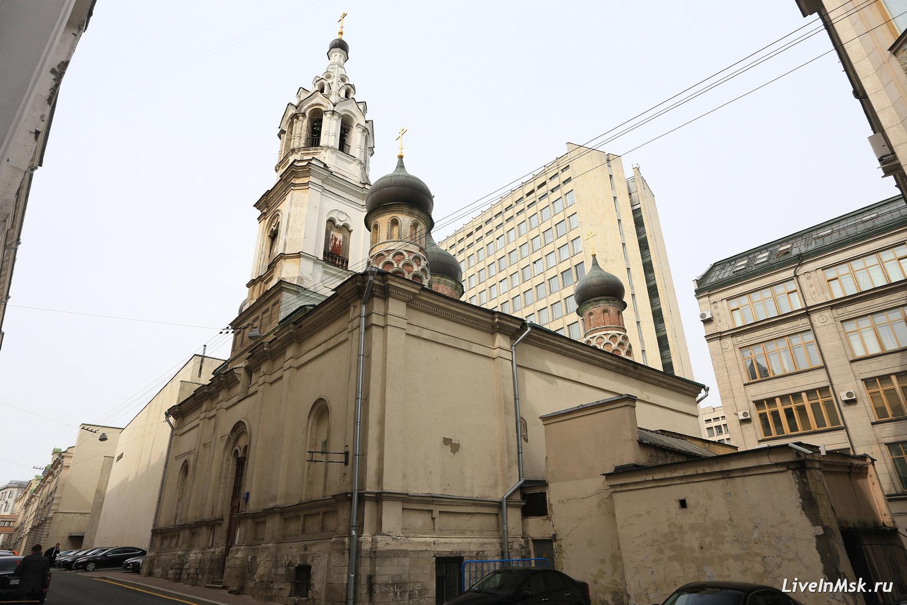 Церковь Никола Красный Звон