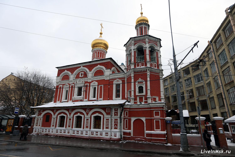 Церковь Всех Святых на Кулишках, фото 2016 года
