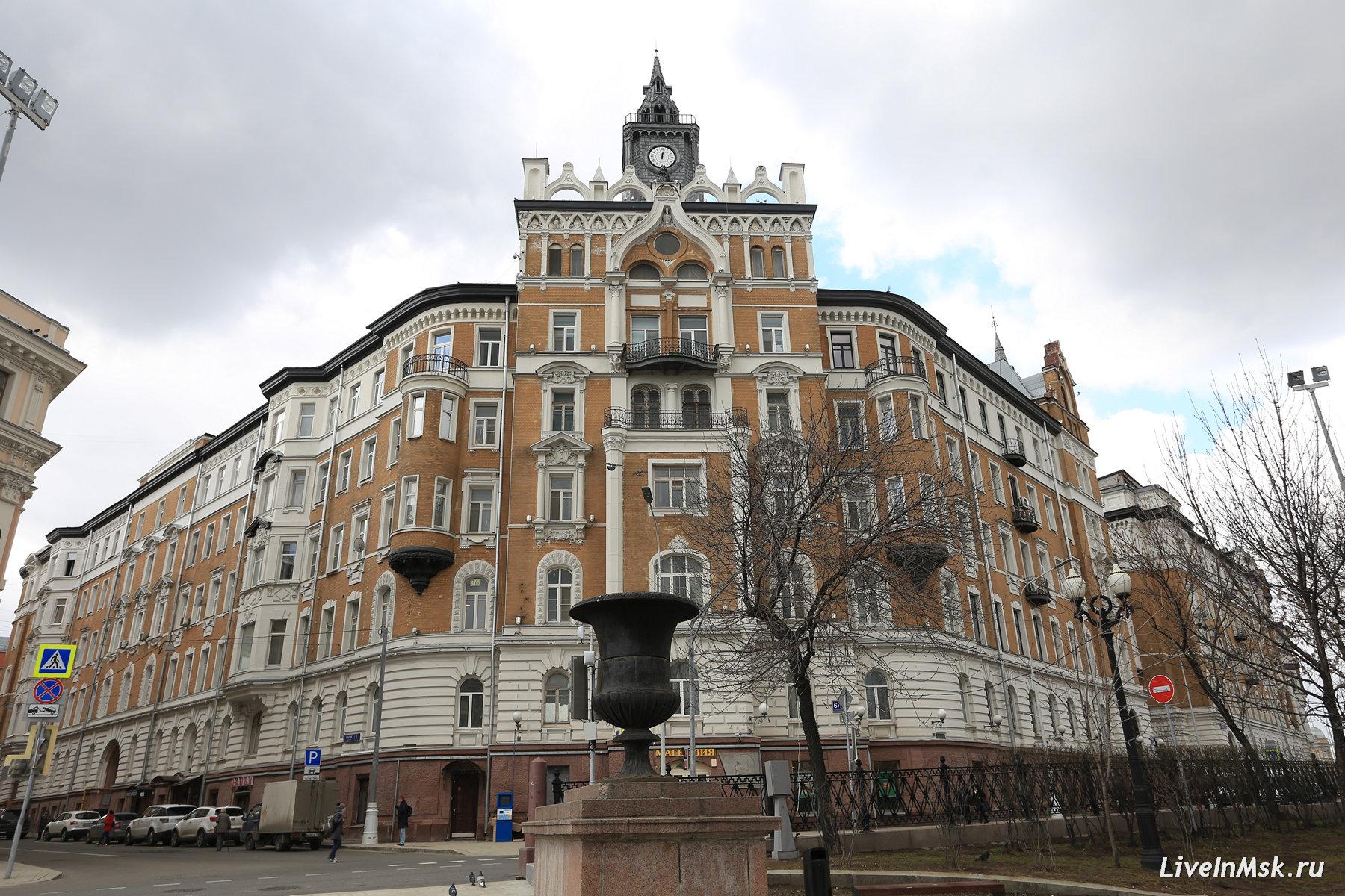 Дом страхового общества «Россия», фото 2017 года.
