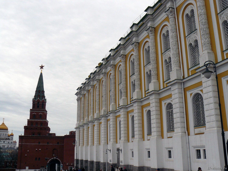 Оружейная палата и Алмазный фонд, фото здания