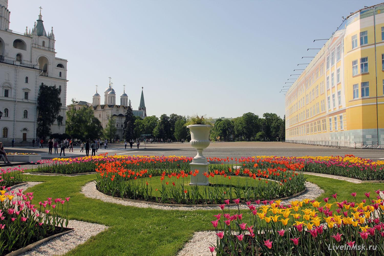 Ивановская площадь, фото 2015 года