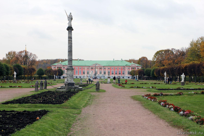 Дворец в Кусково, фото 2015 года
