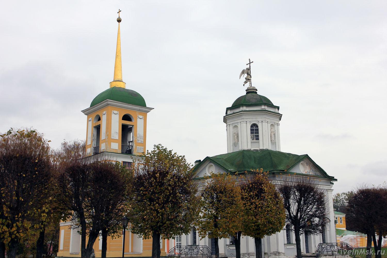Церковь в Кусково, фото 2012 года