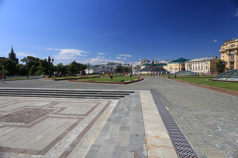 Манежная площадь, фото 2015 года